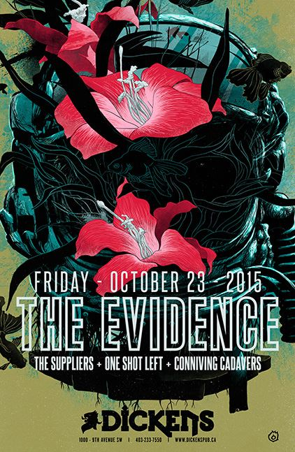 The Evidence & One Shot Left October 23, 2015